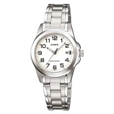Casio Ladies Standard Analog Silver Stainless Steel Band Watch Ltp1215A 7B2 Ltp 1215A 7B2 Lower Price