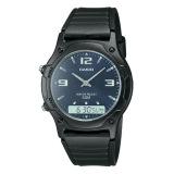 Sale Casio Men S Black Resin Strap Watch Aw49He 2A Casio