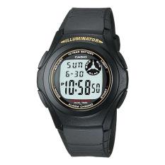 Casio Men S Black Resin Strap Watch F200W 9A Online