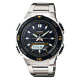 Latest Casio Solar Powered Analog Digital Silver Stainless Steel Band Watch Aqs800Wd 1E Aq S800Wd 1E