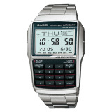 Latest Casio Men S Multi Lingual Data Bank Series Silver Stainless Steel Band Watch Dbc32D 1A Dbc 32D 1A