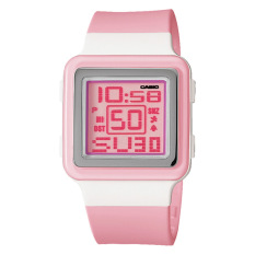 Sale Casio Poptone Series Ladies Pink Resin Band Watch Ldf20 4A Ldf 20 4A Casio Original