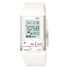 Casio Poptone Series Ladies White Resin Band Watch Ldf52 7A Ldf 52 7A Best Price