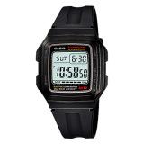Casio Standard Digital Men S Black Resin Band Watch F201Wa 1A F 201Wa 1A Casio Discount