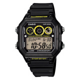 Price Casio Standard Digital Men S Black Resin Strap Watch Ae1300Wh 1A Casio