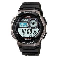 Casio Standard Digital Sporty Design Men S Black Resin Strap Watch Ae1000W 1B On Line