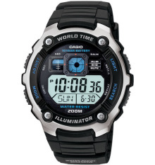Sale Casio Standard Digital Sporty Design Men S Black Resin Strap Watch Ae2000W 1A Casio Online