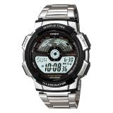 Casio Men S Standard Digital Stainless Steel Band Watch Ae1100Wd 1A Ae 1100Wd 1A Casio Cheap On Singapore