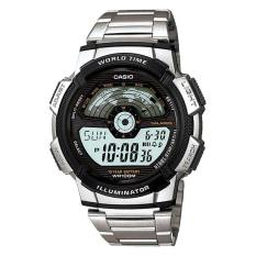 Casio Men S Standard Digital Stainless Steel Band Watch Ae1100Wd 1A Ae 1100Wd 1A Lowest Price