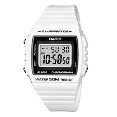 [best] Casio Ladies Standard Digital White Resin Band Watch W215h-7a W-215h-7a By Watchspree.
