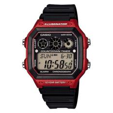 Best Casio Standard Men S Black Resin Band Digital Watch Ae1300Wh 4A
