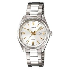 The Cheapest Casio Ladies Standard Analog Silver Stainless Steel Band Watch Ltp1302D 7A2 Ltp 1302D 7A2 Online