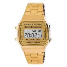 Casio Women S Gold Stainless Steel Strap Watch A168Wg 9W On Singapore