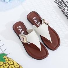Casual Beach Women Slipper Sandals Summer Home Flat Flip Flops Shoes - intl