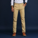 Casual Business Men Straight Cotton Pant Slim Male Trousers Intl Best Buy