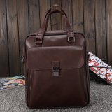 Price Casual Crazy Horse Leather Business Handbag Men S Bag Oem Original