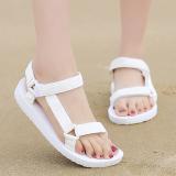 Best Price Men S Casual Flat Heel Flat Big Kid Sandals White