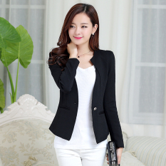 Best Price Casual New Style Women S Small Suit Black
