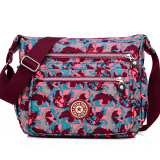 Recent Casual Nylon Female Lightweight Sling Bag Crossbody Bag Waterproof Shoulder Bag Map Color
