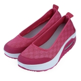 Recent Casual Pure Color Breathable Platform Shoes For Ladies