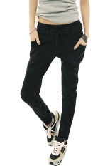 Price Casual Sports Harem Pants Black Oem