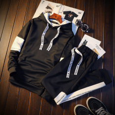 Price Casual Sports Hooded Sweater Men S Hoodie Tz668 Black Clothes Pants Fisen New