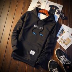 Casual Sports Hooded Sweater Men S Hoodie W673 Black Promo Code