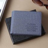 How To Buy Casual Washed Navy Men Slim Wallet Hybrid Pockets Multi Card Slots Id Window Intl