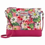 Sale Cath Kidston Canvas Small Cross Body Bag Painted Daisy 15Ss Export Cath Kidston Wholesaler