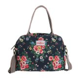 Price Cath Kidston Matt Oilcloth Busy Bag Folk Flowers Midnight Blue Export On Singapore