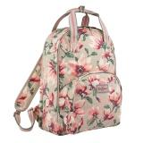 Coupon Cath Kidston Multi Pocket Backpack Matt Oilcloth Rucksack Magnolia 17Ss Colour Stone Fitting 13 Laptop 671835 Intl