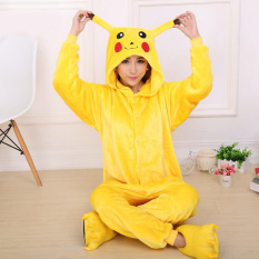 Compare Prices For Catwalk Pikachu *D*Lt Unisex Pajamas Cosplay Costume Onesie Sleepwear S Xl Yellow