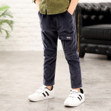 Retail New Style Baby Corduroy Pants Gray