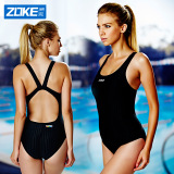 Get Cheap Zoke S*xy Women S One Piece Large Swimming Clothing New Style Swimsuit Black