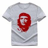 Sale Che Guevara 8 Casual T Shirt Grey Intl On China