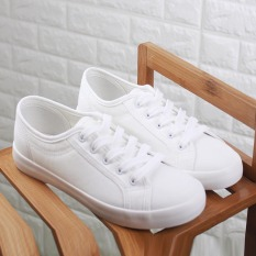 Review Women S Casual Canvas Flat Shoes White Oem On China