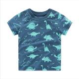 Children Summer Clothing Baby Boy T Shirt Cotton Dinosaur Short Sleeve T Shirt Kid Boy Casual Sport T Shirt Intl Price