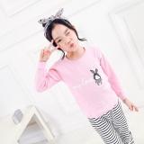 Buy Children S Underwear Set Cotton Autumn Clothes Pants G*Rl Baby Warm Boy Two Piece Sets Pink Intl China