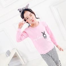 Sale Children S Underwear Set Cotton Autumn Clothes Pants G*Rl Baby Warm Boy Two Piece Sets Pink Intl Online On China