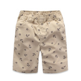 Boys Leisure Anchor Print Pants Anchor Beige 20 Cotton Anchor Beige 20 Cotton On China