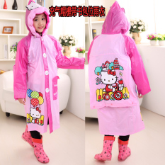 Where Can You Buy Children S Men G*rl With Bag Bit Student Korean Raincoat Inflatable With Schoolbag Bit Kt Send Sticker