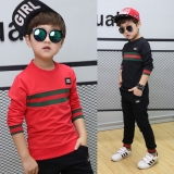 Review 12 Boys Children S New Style 8 9 Big Boy 15 Years Old Long Sleeved Black Oem