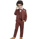 Price Children S Suit Men Korean Style Small Suit New Style Gentleman Casual Children S Autumn Suit Men Plaid Small Suit Jacket Light Brown Oem New