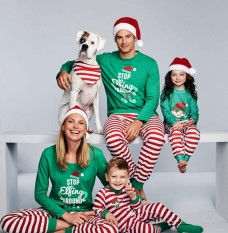 Christmas Parent-Child Suit, Printing Home Casual Wear Pajamas Two-Piece Suit (children Models) - Intl By Huadong Store.