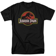 Review Chuangmeng Jurassic Park Logo Men S T Shirt Black Intl Custom T Shirt On China