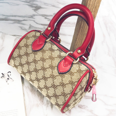 Sale Classic Female Boston Bags Bag Red Red Oem On China
