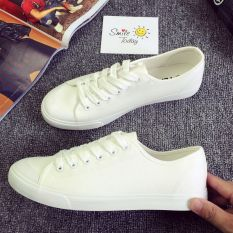 Buying Classic Summer Men S Canvas Shoes White