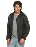 Buying Clearance Price Sunwonder New Mens Casual Hooded Long Sleeve Contrast Color Zip Waterproof Outdoor Short Windbreaker Coat Jacket Black Intl