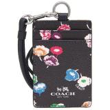 Price Comparisons Of Coach Lanyard Id In Wildflower Print Coated Canvas Navy Silver Multi F65573 Gift Receipt