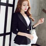 Buy Calan Diana Women S Korean Style Long Sleeve Blazer Black Cheap China